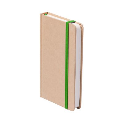 Notizbuch Bosco dunkelgrün bedrucken