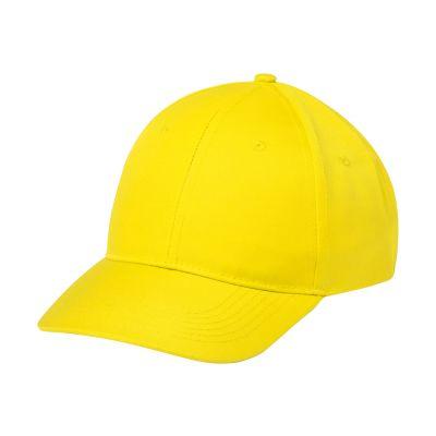 Baseball Kappe Blazok gelb bedrucken