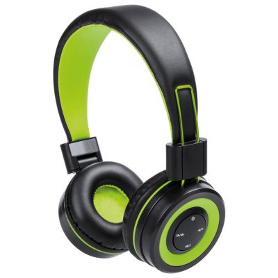 Bluetooth-Kopfhörer Tresor dunkelgrün bedrucken