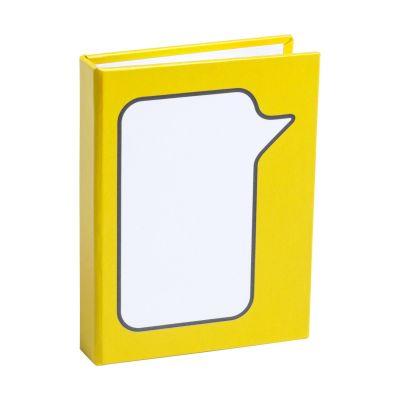 Haftnotiz-Set Dosan gelb bedrucken