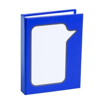 Haftnotiz-Set Dosan dunkelblau bedrucken