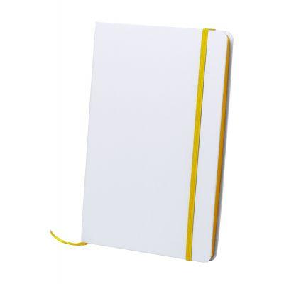 Notizbuch Kaffol gelb bedrucken