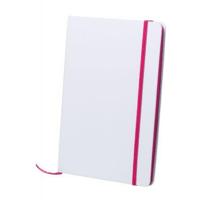 Notizbuch Kaffol pink bedrucken