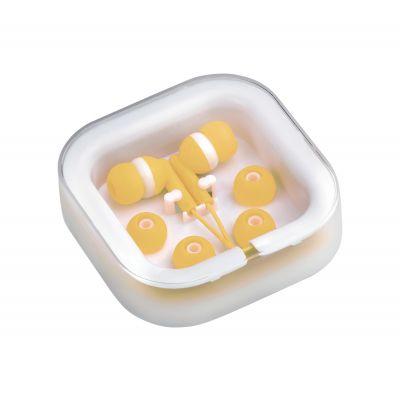 In-Ear-Kopfhörer Cort gelb bedrucken