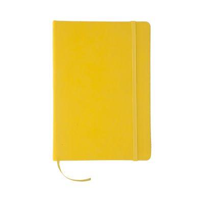 Notizbuch Cilux gelb bedrucken