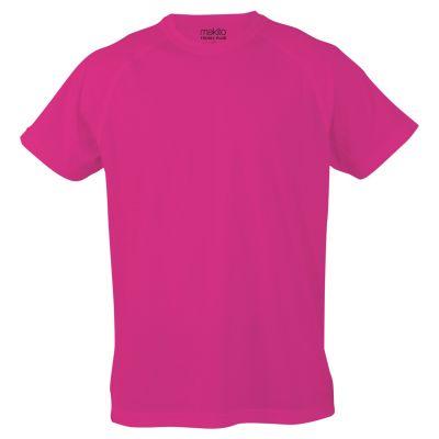 Sport T-shirt für Kinder Tecnic Plus K pink bedrucken