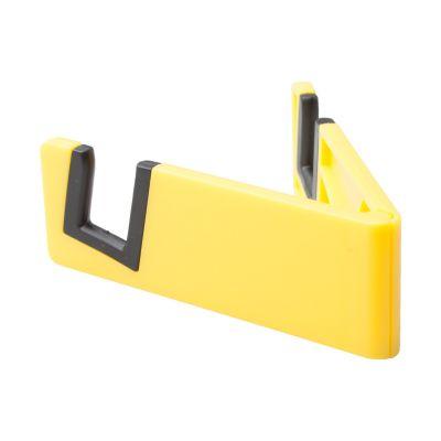 Handyhalter Laxo gelb bedrucken