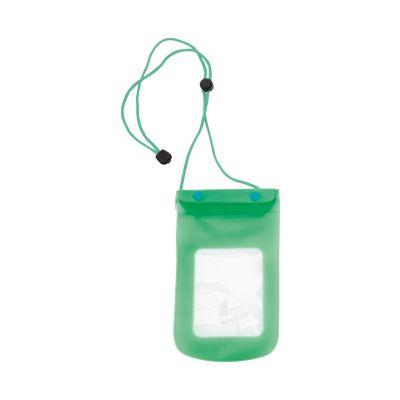 Wasserdichtes Handy-Etui Tamy dunkelgrün bedrucken