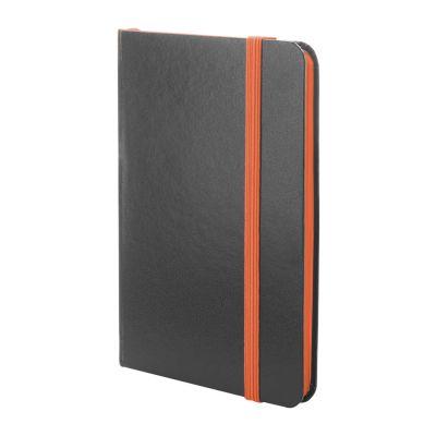 Notizbuch Kolly orange bedrucken