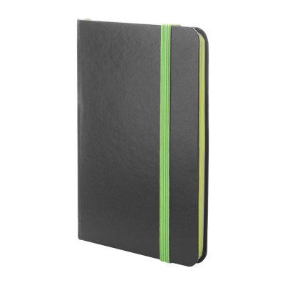 Notizbuch Kolly dunkelgrün bedrucken