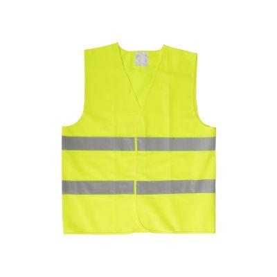 Warnweste für Kinder Visibo Mini gelb bedrucken