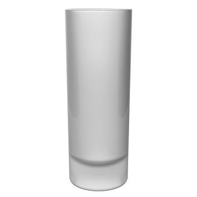 Schnapsglas Wodkazylinder satiniert inkl. 1c Druck