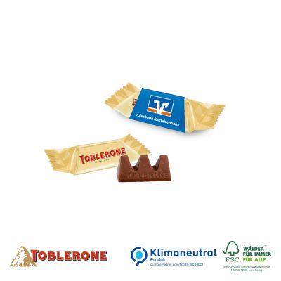 TOBLERONE Minis mit Werbschuber, Klimaneutral, FSC®