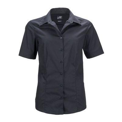 Ladies' Business Shirt Short-Sleeved