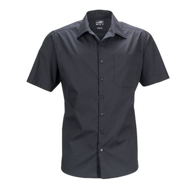 Men's Business Shirt Short-Sleeved
