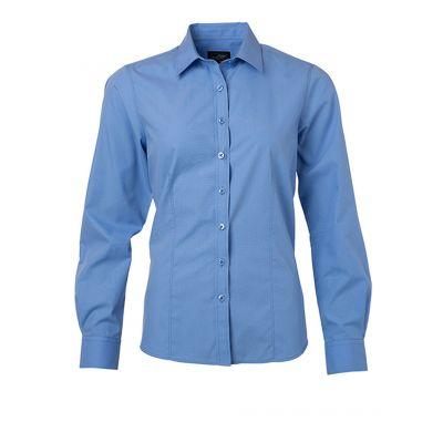Ladies' Shirt Longsleeved Poplin