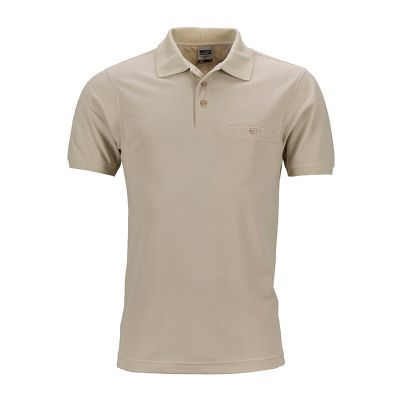 Men�s Workwear Polo Pocket