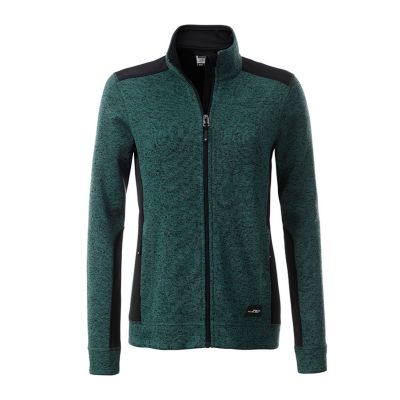 Ladies' Knitted Workwear Fleece Jacket