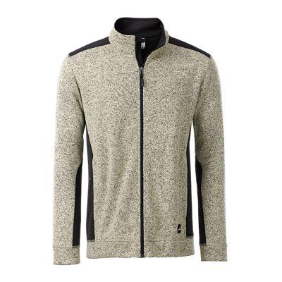 Men's Knitted Workwear Fleece Jacket
