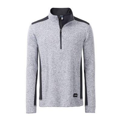 Men's Knitted Workwear Fleece Half-Zip