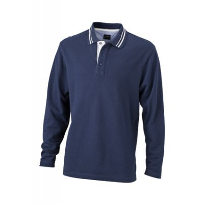 Men's Polo Long-Sleeved