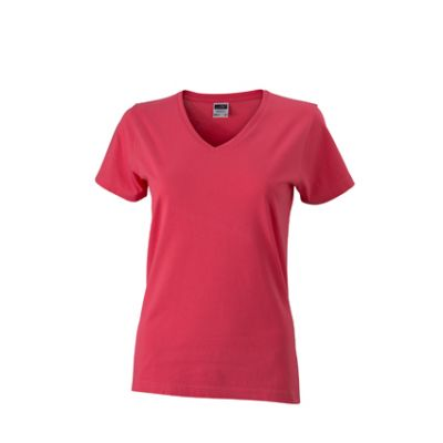 Ladies' Slim Fit V-T