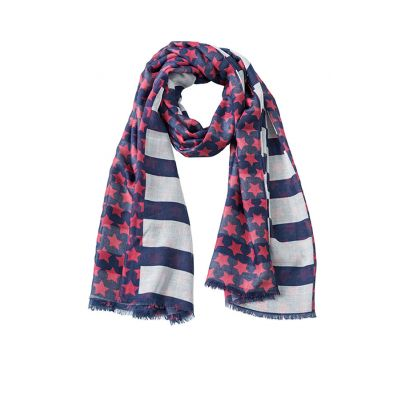 """Scarf """"Stripes and Stars"""""""
