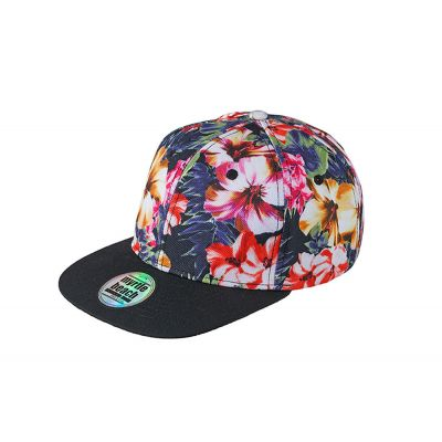 6 Panel Crown Printed Pro Cap