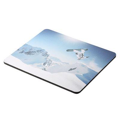 "Mousepad ""Sublimation"" schwarz-weiß EL0011800"