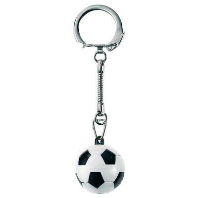 """Schlüsselanhänger """"Knobel-Fußball"""" weiß-schwarz EL0035000"""