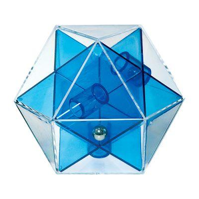 """Pussycat Geduldspiel """"Dymaxion One"""" transparent-blau EL0035700"""