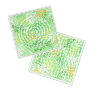 "Geduldspiel ""Duo-Labyrinth"" transparent EL0038000"