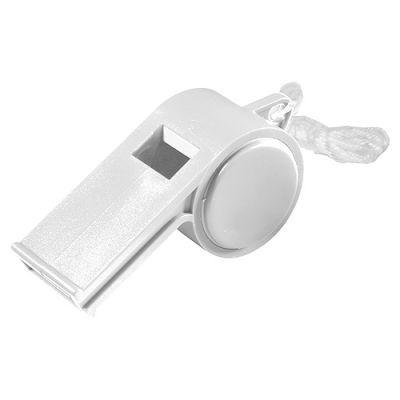"Trillerpfeife ""Sport"" mit Kordel uni-colour weiß EL0038600"