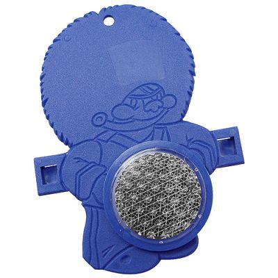 "Reflektor ""Fahrrad-Figur"" blau EL0041300"