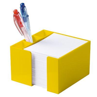 "Zettelbox ""Stifteköcher"" gelb EL0055703"
