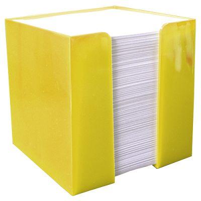 "Zettelbox ""Würfel"" gelb EL0056003"