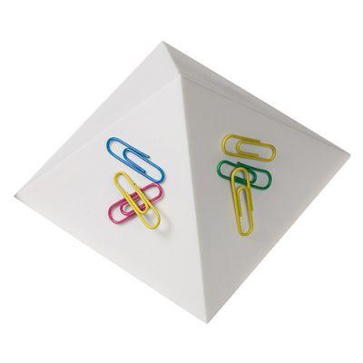 "Büroklammernhalter ""Magnet-Pyramide"" weiß EL0060000"