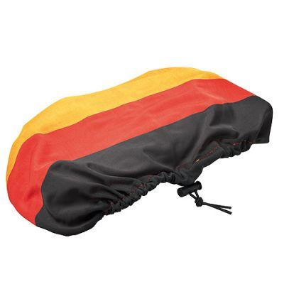 """Sonnenblendenüberzug """"Nations"""" schwarz-rot-gelb EL0093000"""
