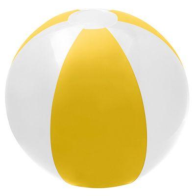 Wasserball weiß-gelb EL0094000
