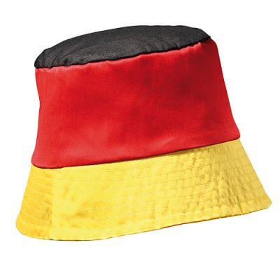 """Sonnenhut """"Nation"""" schwarz-rot-gelb EL0094200"""