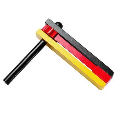 """Ratsche """"Nations - Timber"""" schwarz-rot-gelb EL0096300"""