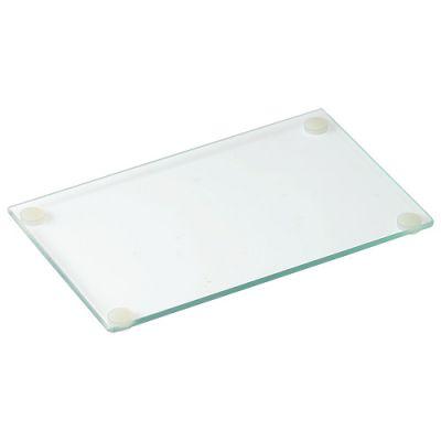 "Schneidbrett aus Glas ""Meal"" mini transparent EL0100900"