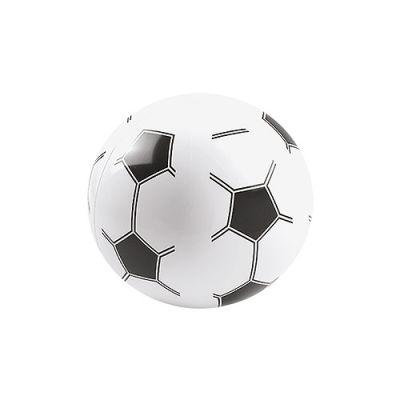 """Wasserball """"Fußball"""", groß weiß-schwarz EL0101100"""