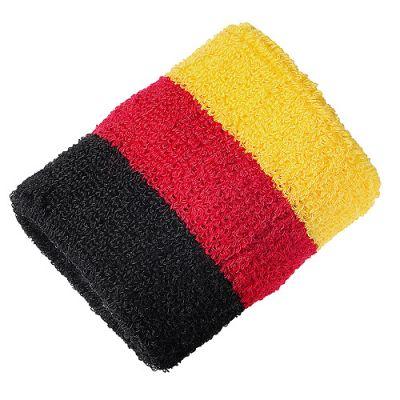 "Schweißband ""Nations - Germany"" schwarz-rot-gelb EL0102100"