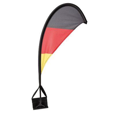 """Autofahne """"Windsegel"""" Deutschland schwarz-rot-gelb EL0107500"""
