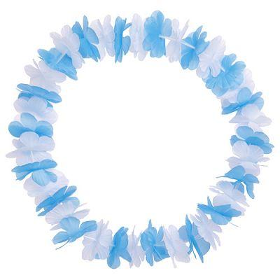 """Blumenkette """"Bavaria"""" weiß-blau EL0108300"""