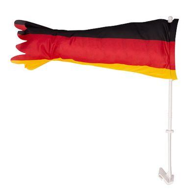 """Autofahne """"Tube"""" Deutschland schwarz-rot-gelb EL0108800"""