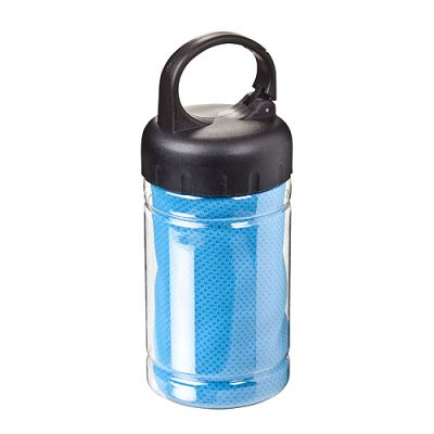 "Fitnesshandtuch ""Keep Cool"" blau EL0114600"
