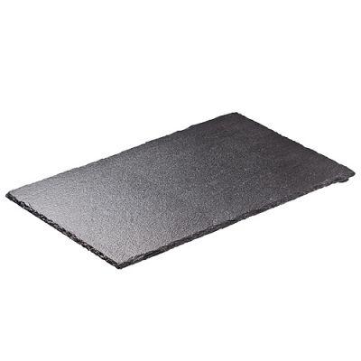 """Servierplatte """"Schiefer"""" groß schwarz EL0118000"""