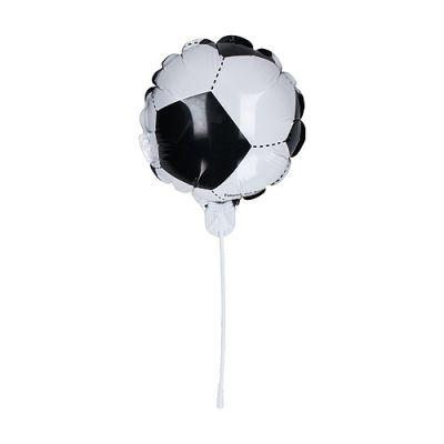 """Luftballon, selbstaufblasend """"Soccer"""" Deutschland, klein schwarz-rot-gelb EL0118400"""